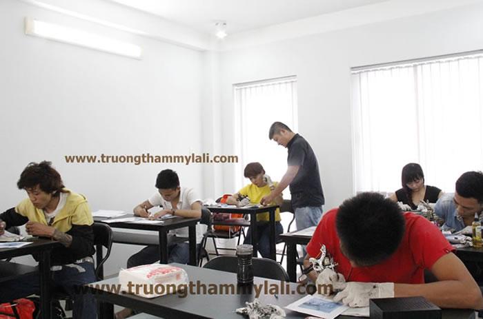 Lớp học xăm hình nghệ thuật ( TATTOO )